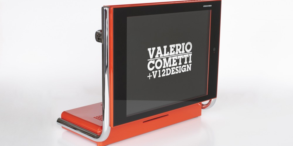 valerio cometti v12 design Lcd Tv Alpha