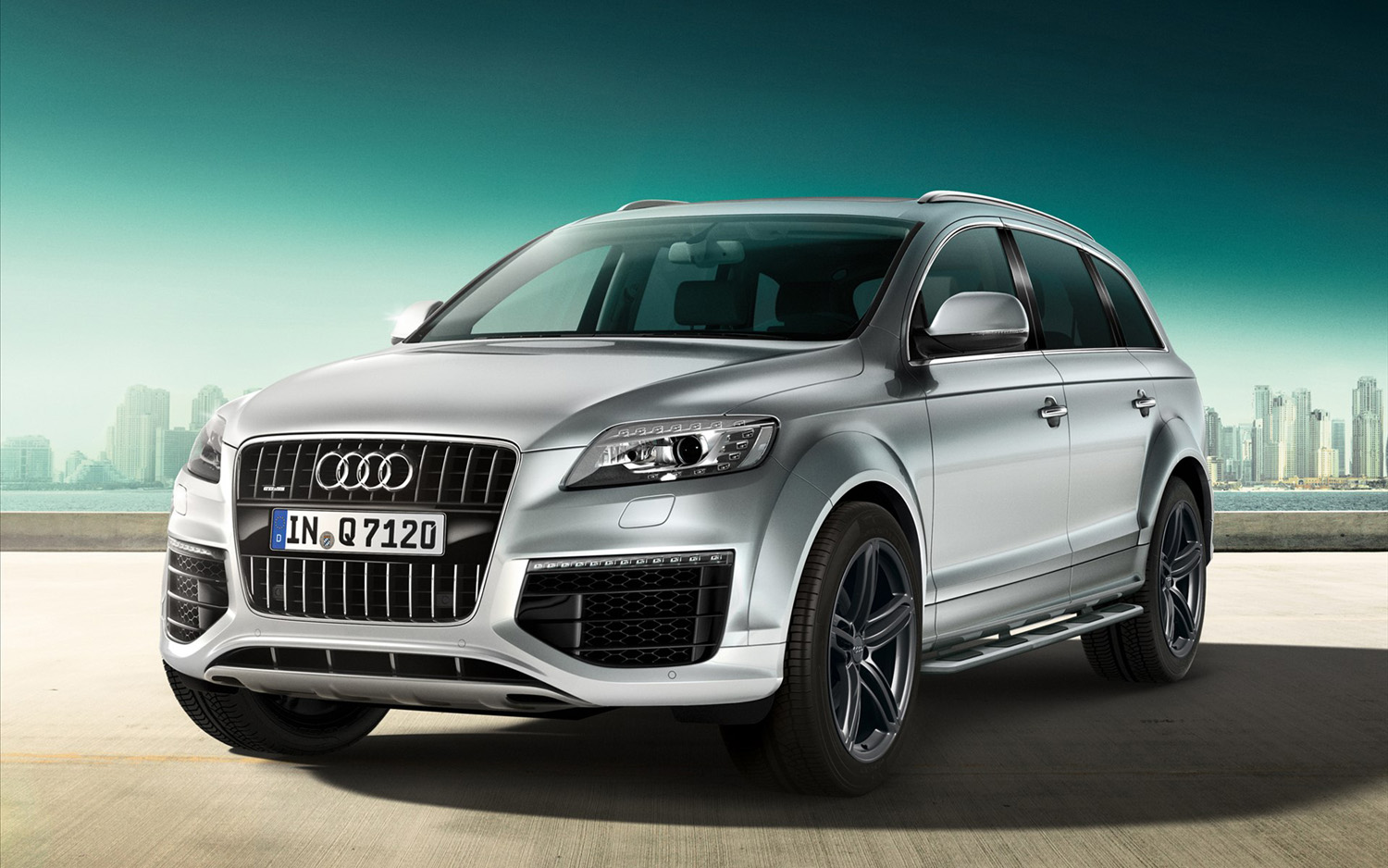 Audi Q7 at the 2015 Geneva Motor Show