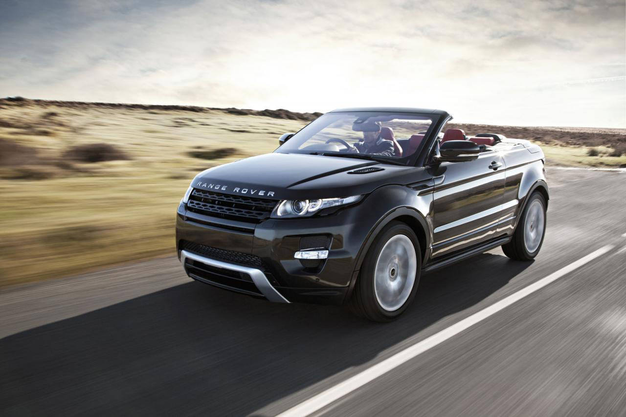 Range Rover Evoque Convertible at the 2015 Geneva Motor Show