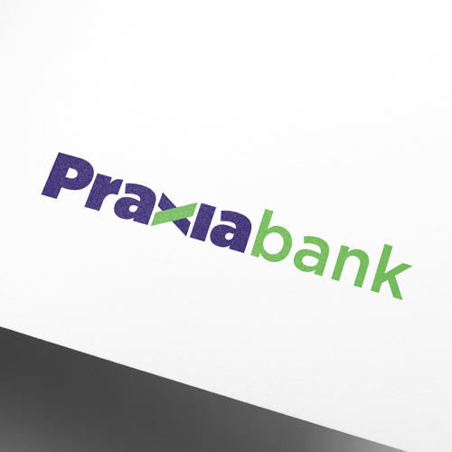 Praxia Bank, the new corporate image designed by V12 design (2)